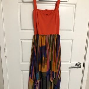 Dresses & Skirts - multicolor high low dress